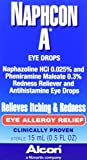 Alcon Naphcon-A Allergy Relief Eye Drops, 0.5-Ounce Bottles (Pack of 2)