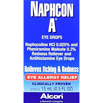 Amazon Com Alcon Naphcon A Allergy Relief Eye Drops 0 5 Ounce