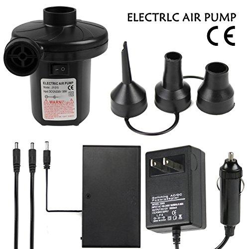 Quick-Fill AC Electric Air Pump, DC 12V/AC 110-240V, Outd...