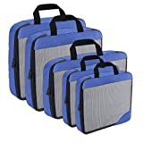 Best Compression Packing Cubes - Compression Packing Cubes Travel Organizer (5) Set, Expandable Review