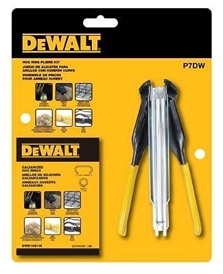 DEWALT P7DW Hog Ring Pliers Kit