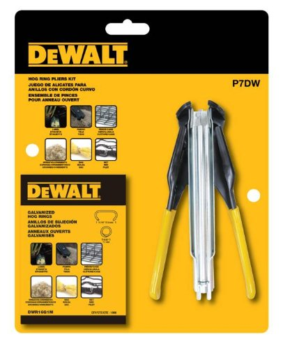 DEWALT P7DW Hog Ring Pliers Kit product image