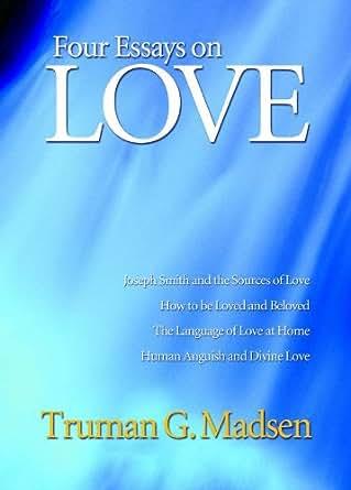 Essays in love amazon