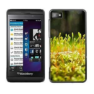 LECELL -- Funda protectora / Cubierta / Piel For Blackberry Z10 -- Plant Nature Forrest Flower 54 --
