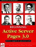 img - for Beginning Active Server Pages 3.0 book / textbook / text book