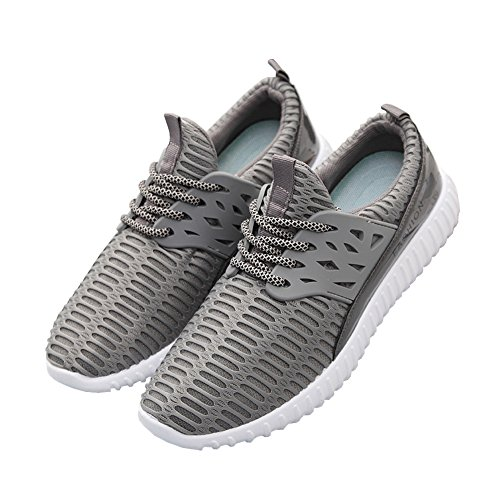 fereshte Walking Adults' Shoes Gym Sneakers 1 Lightweight Fitness Unisex Size Men Running 773gray 1 up Sports 5 Need Trainers rrvXwAR