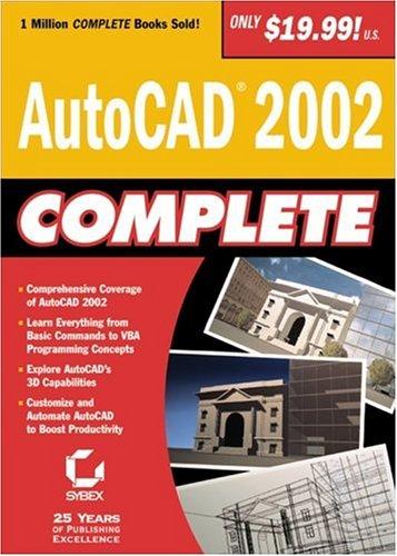AutoCAD 2002 Complete