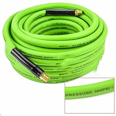 """1/4"""" Npt Brass Fittings 3/8"""" X 50` High Pressure Pvc Air Hose"""