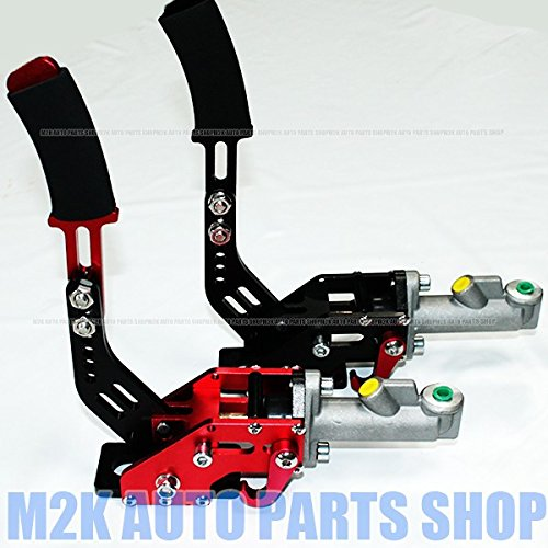 競技車両専用 汎用 油圧式 ハンドブレーキ サイドブレーキ ドリフト ジムカーナ スピーンターン 内装 油圧サイド シルビア 180SX スカイライン マーク2黒 B07CVGZSPMブラック