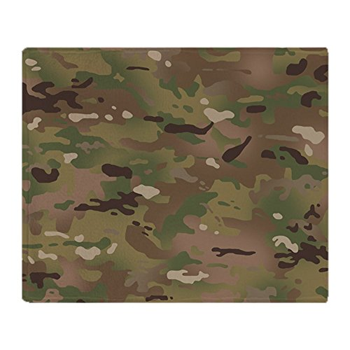 - CafePress Military Camouflage Pattern Soft Fleece Throw Blanket, 50