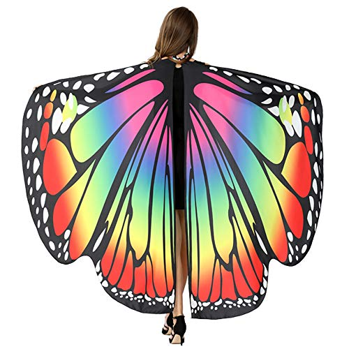 Christmas Dresses For Women, HITOP Soft Fabric Butterfly Wings Shawl Fairy Ladies Nymph Pixie Costume Accessory