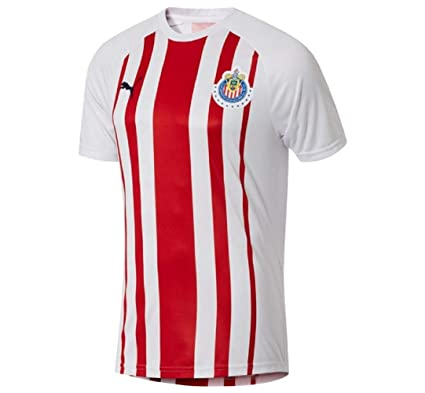 9151c883ba3 Amazon.com   PUMA Liga MX Mens Chivas Fan TEE   Sports   Outdoors