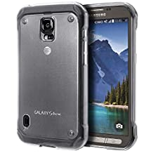 Samsung Galaxy S5 Active Case, Cimo [Grip] Premium Slim TPU Flexible Soft Case For Samsung Galaxy S 5 V Active (2014) - Frosted Clear