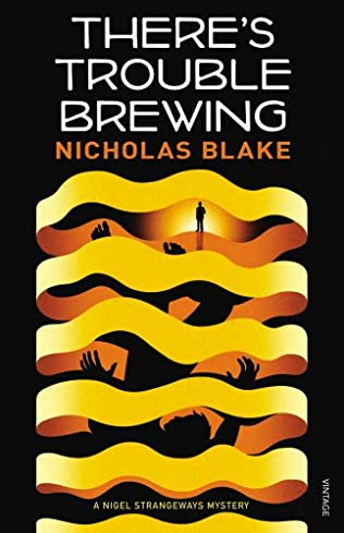 book cover of There\'s Trouble Brewing