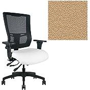 Office Master Affirm Collection AF578 Ergonomic Executive High Back Chair - KR-465 Armrests - Black Mesh Back...