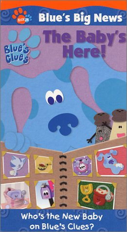Blue's Clues - Blue's Big News - The Baby's Here! [VHS] (Blues Clues Blues Big News The Babys Here)
