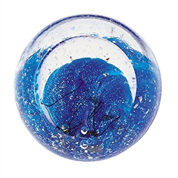 Glass Eye Studio Neptune Blown Glass - Keepsake Paperweight Glass