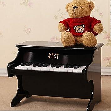 25 mejores juguetes educativos claves instrumento musical Mini piano de madera: Amazon.es: Juguetes y juegos