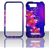 2D Mystical Flowers Motorola Photon Q LTE XT897 Sprint Case Cover Phone Snap on Cover Case Faceplates