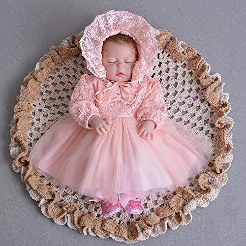 Taufbekleidung elfenbein elfenbeinfarben 0-24 Monate Selene Baby M/ädchen