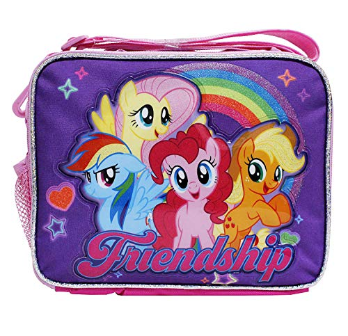My Little Pony New Cute Pink & Purple 'Friendship' Girls' Insulated School - Bag Friendship