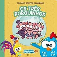 CONTOS CLASSICOS GALINHA PINTADINHA MINI - OS TRES PORQUINHOS