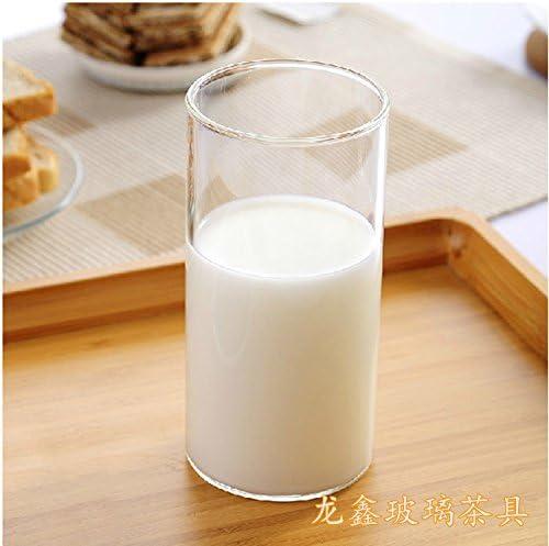 Btftkjbf - Taza de desayuno japonesa para café, vaso de cristal Cylindrical Milk Cup: Amazon.es: Hogar