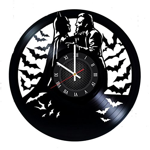 Ma Va Joker Batman Vinyl Record Wall Clock Gift for Fans Great Idea Home Decor DC Comics Vintage Decoration - Buy Gift for Everybody -