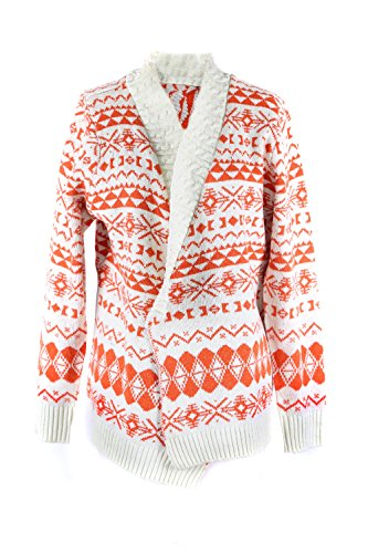G2 Chic Women's Tribal Print Open Front Cardigan with Asymmetrical Hem(TOP-CGN,DRDA3-XL)