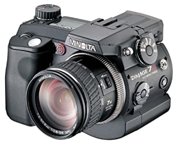 minolta dimage 7hi 52mp digital camera w 7x optical zoom - Minolta Digital Camera