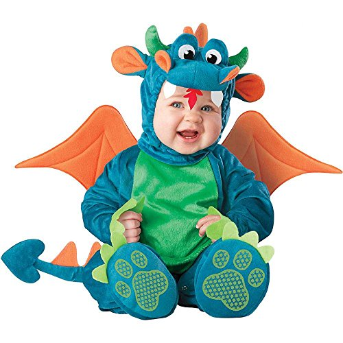 [Dinky Dragon Costume - Infant Large] (Dinky Dragon Baby Costumes)