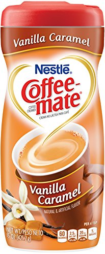 Huddle Coffee-Mate Coffee Creamer Vanilla Caramel, 15 Ounce (Pack of 6)