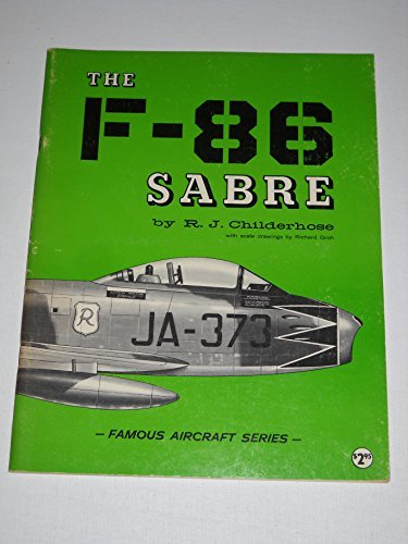 Famous Aircraft - The F-86 Sabre - Famous Aircraft for sale  Delivered anywhere in USA