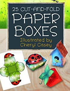 25 Cut-and-Fold Paper Boxes