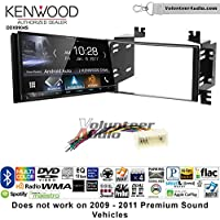 Volunteer Audio Kenwood DDX9904S Double Din Radio Install Kit with Apple CarPlay Android Auto Bluetooth Fits 2006-2008 Kia Accent, 2006-2011 Rio