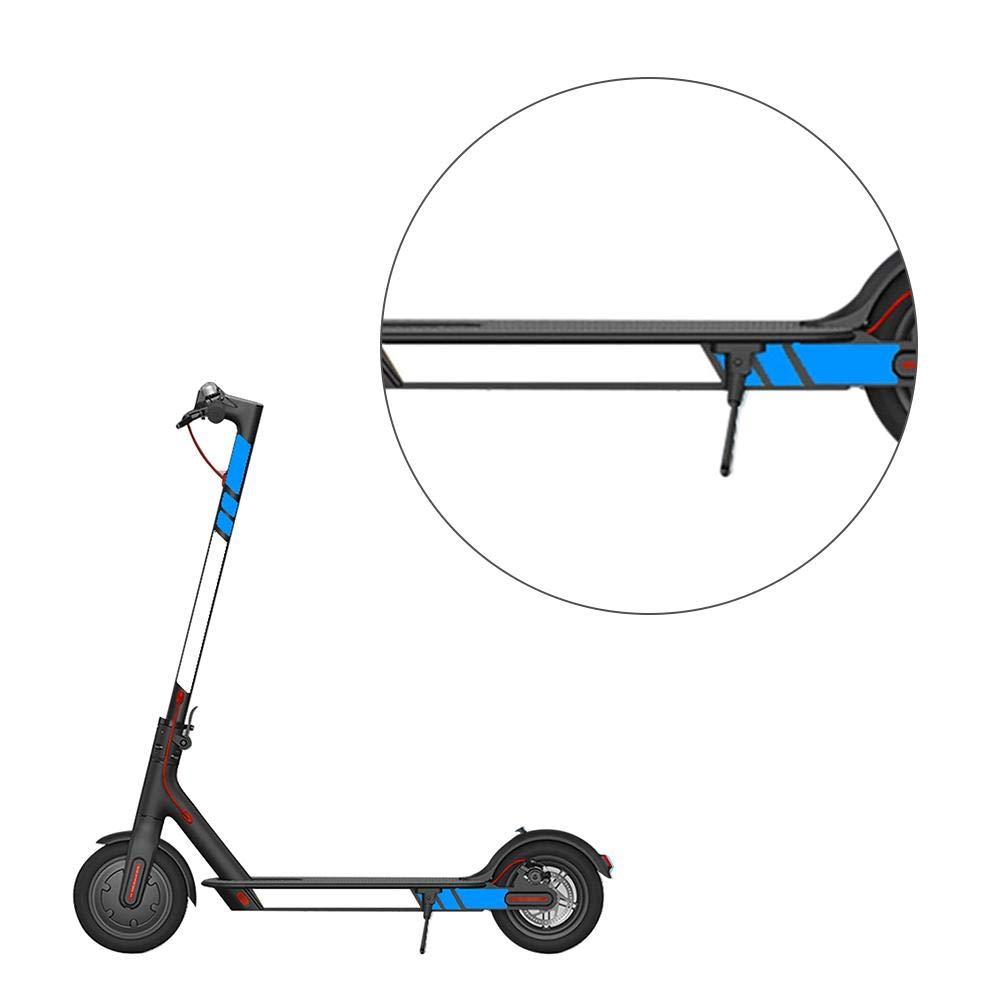 AUTOECHO /Étanche /À La Poussi/ère Autocollant pour Xiaomi Scooter /Électrique M365 Autocollant Scooter Accessoires R/éfl/échissant Style Autocollant