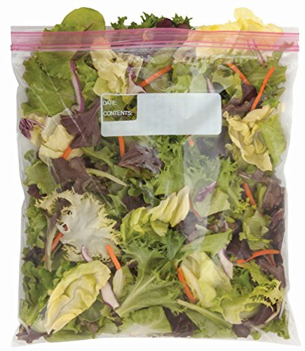 Amazon Brand - Solimo Gallon Food Storage Bags, 120 Count