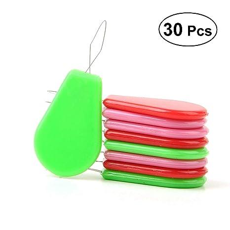 Enhebrador de agujas rosenice enhebrador de agujas para máquina de coser a mano colores (30pcs