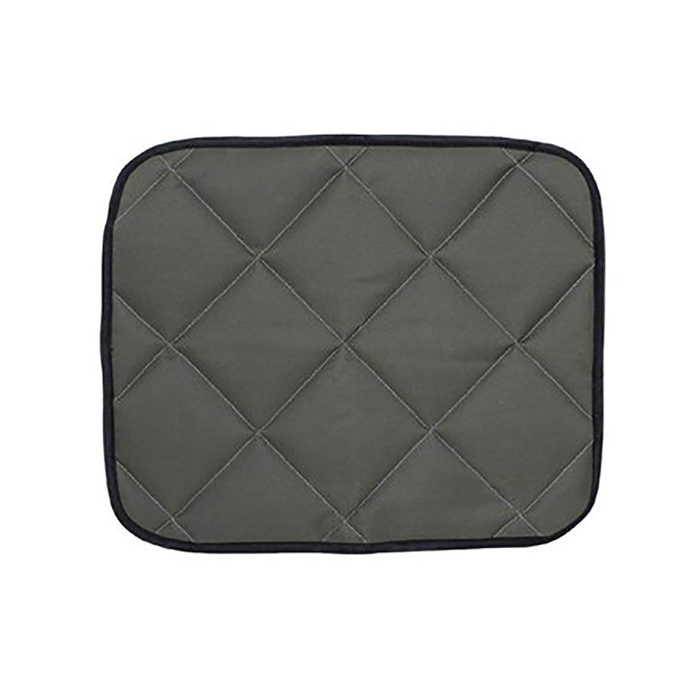 CFHJN HOME Car Dog Pet Bed Blanket Pad Pet Cushion Pet Supplies Summer Bite-Proof Waterproof Rear Seat Cushion (color   Army Green, Size   XXL)