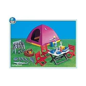 Playmobil Tent and Camping Equipment