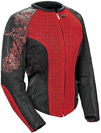 Wine//Black//Black, XXX-Large Joe Rocket 1250-0107 Cleo 2.2 Womens Mesh Motorcycle Riding Jacket