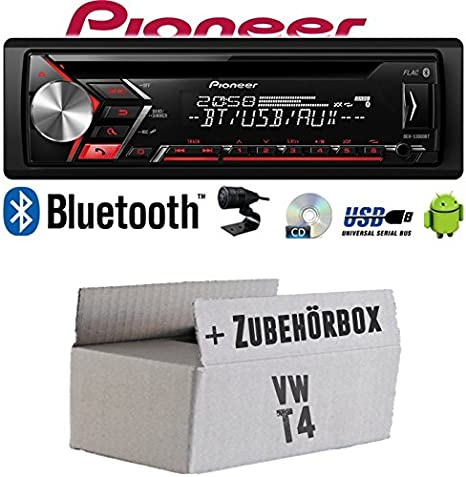 Android Einbauzubeh/ör CD MP3 USB JUST SOUND best choice for caraudio Einbauset f/ür VW Bus T4 Autoradio Radio JVC KD-T402