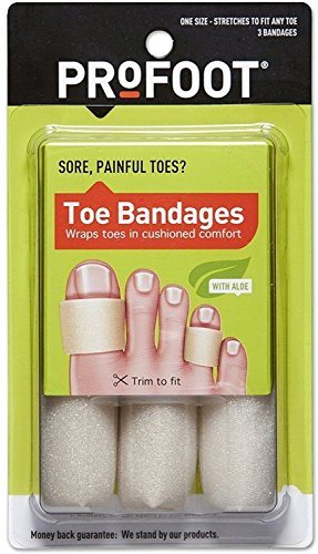 Profoot Toe bandages 3 count (Pack of 2)