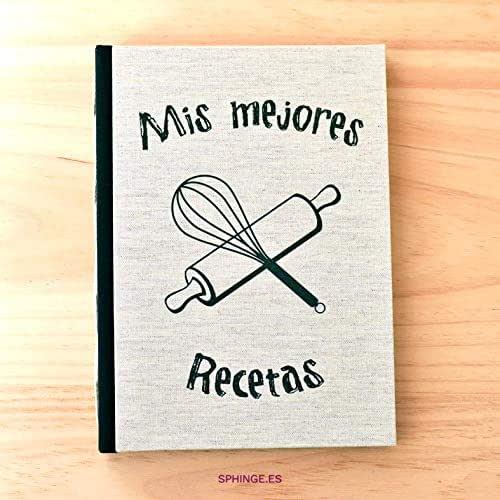 Sphinge - Libro de recetas de cocina personalizado | Para