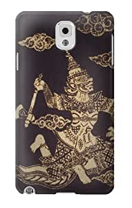 S0570 Thai Art Case Cover For Samsung Galaxy Note 3
