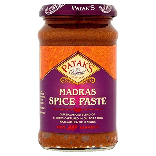 Patak's Madras Spice Paste 283g - Pack of 6 -  Pataks, PACK6-OC40613011