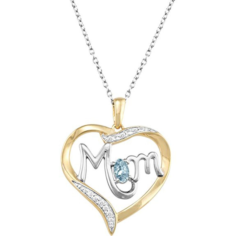 Valentine Day Special Heart Pendant Two Tone Gold Plated Simulated Diamond With 18 Box Chain
