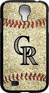 Onelee?? - MLB Team Logo, Colorado Rockies Logo Samsung GALAXY S4 Cases (Black) - Colorado Rockies 3