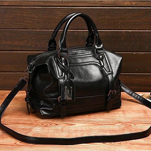 à grand tendance Belle pratique capacité léger Femme main Cadeau et Noir à joli bandoulière Utile sac sac RYYA5qB