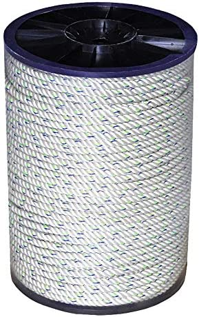 MEI XUクライミングロープ アウトドアクライミングロープクライミングロープラペリングロープ高高度安全ロープエスケープロープ12.5ミリメートル軍事訓練スパイラルロープ、9サイズ (Size : 50M)